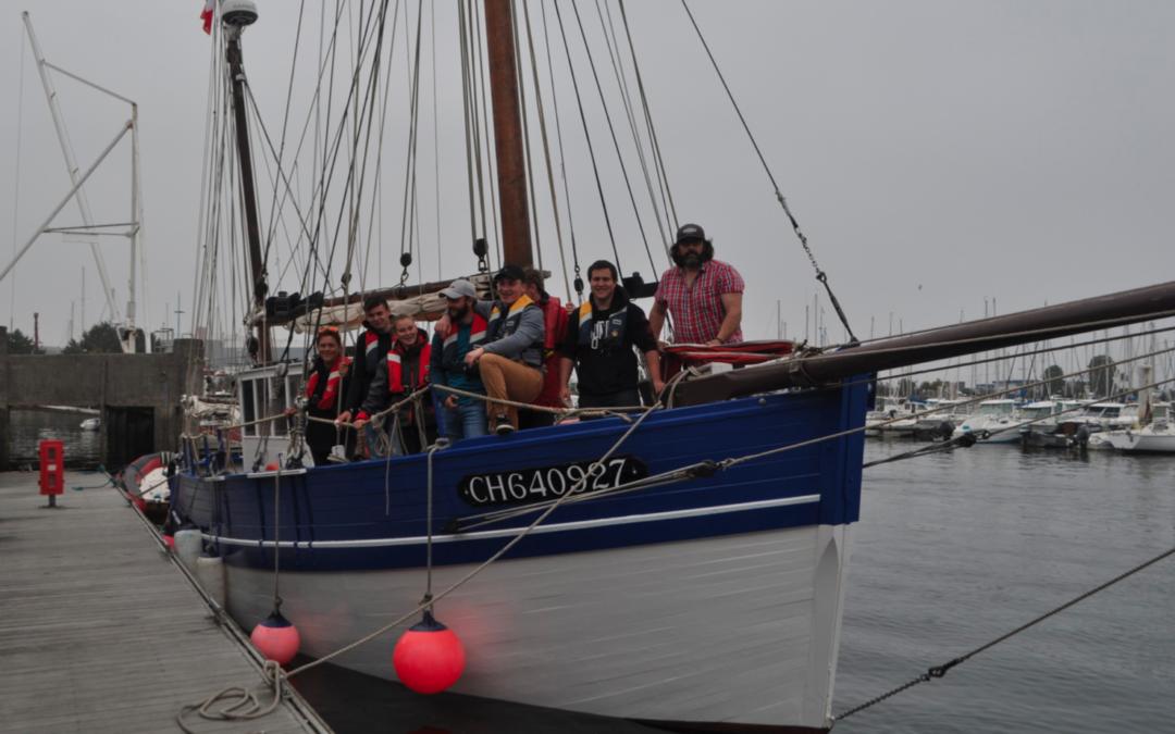 Convoyage voilier Croix du Sud III avec 6 élèves de 2nde CGEM option commerce le 7 juin 2018